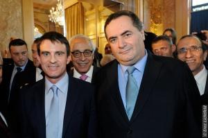 Ministre KATZ avec PM VALLS