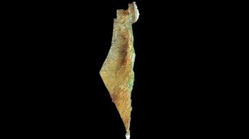 ישראל צילום לווין